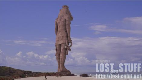 Crocodile face (Sobek)+Tawaret body/head = 4 Toed Statue